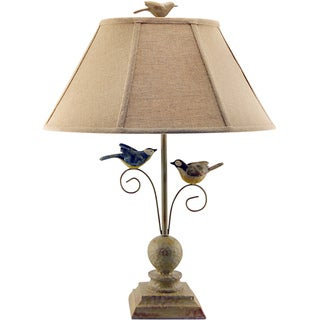Somette Fly Away Together Multi Resin Table Lamp