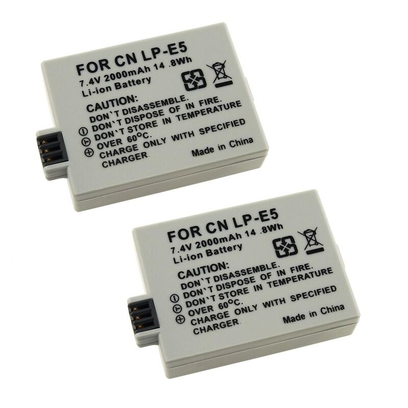 INSTEN Battery for Canon LP-E3/ EOS Digital Rebel Xsi/ Xs (Pack of 2)