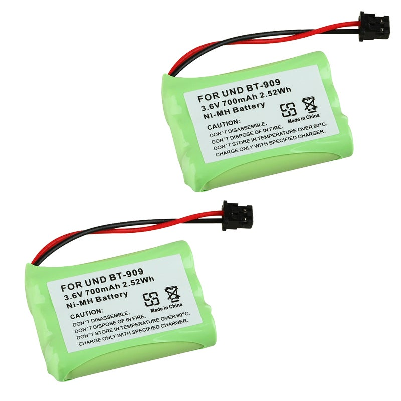 INSTEN Battery compatible with Uniden BT-909 (Pack of 2)