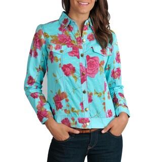 La Cera Women's Twill Jacket