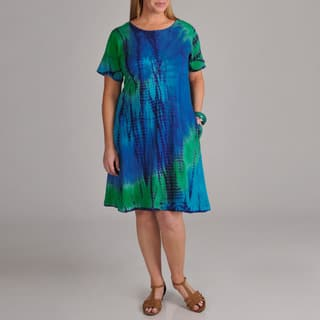 dbfe4460dd2 Buy Short Sleeve Women s Plus-Size Dresses Online at Overstock
