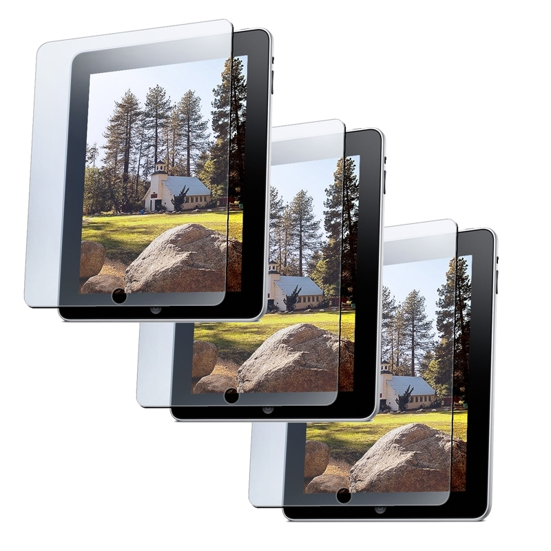 INSTEN Clear Screen Protectors for Apple iPad 1 (Pack of 3)