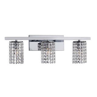 Chrome and Crystal 3-light Round Shade Wall Sconce|https://ak1.ostkcdn.com/images/products/7026569/P14531414.jpg?impolicy=medium