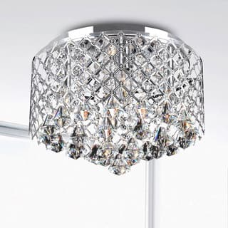 Nerisa Chrome Crystal Flush Mount Chandelier|https://ak1.ostkcdn.com/images/products/7026576/P14531421.jpg?impolicy=medium