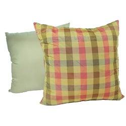 RLF HOME Harvest Silk 16x16 Decorative Pillows (Set of 2)