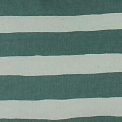 Beach Stripe Green Throw Pillows (Set of 2) - Thumbnail 1