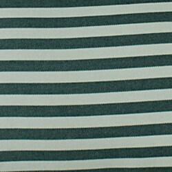 Green Stripe Throw Pillows (Set of 2)