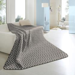 Bocasa Cuddly Casa Taupe Blanket
