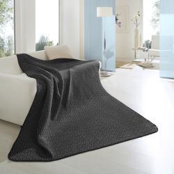 Bocasa Cosy Empire Black Blanket