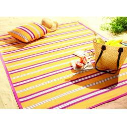 Bocasa Yellow Sunrise Indoor/Outdoor  Blanket - Thumbnail 1