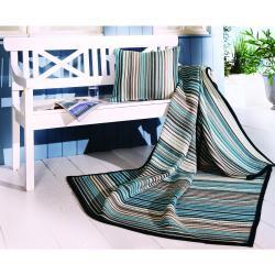 Bocasa Blue Sunrise Indoor/Outdoor Cushion - Thumbnail 1