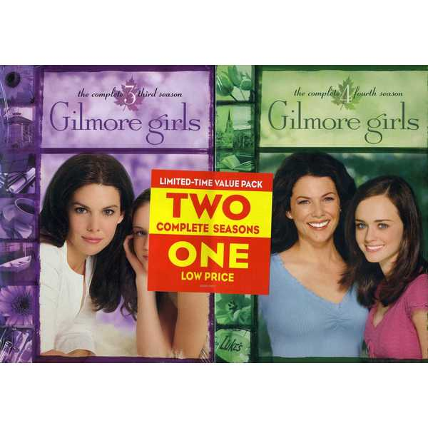 Gilmore Girls: The Complete Seasons 3-4 (DVD)