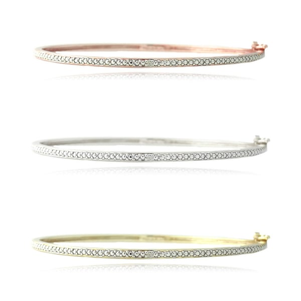 w diamond htm product sterling silver p bracelet bangles bangle