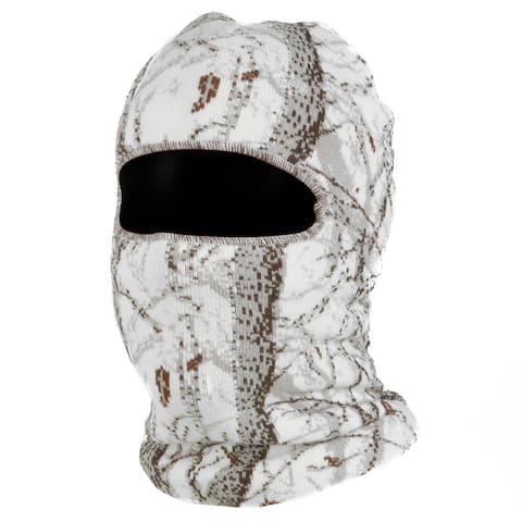 QuietWear Digital Knit Camo 1-hole Mask