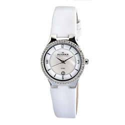 Skagen Women's Stainless Steel Mother of Pearl Watch