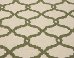 nuLOOM Handmade Moroccan Trellis Natural Wool Rug (5' x 8') - Thumbnail 2