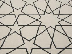 nuLOOM Handmade Marrakesh Trellis Natural Wool Rug (7'6 x 9'6) - Thumbnail 2