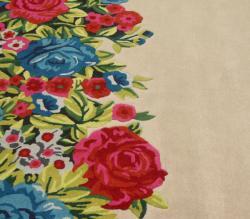 nuLOOM Handmade Floral Multi Faux Silk/ Wool Rug (5' x 8') - Thumbnail 2
