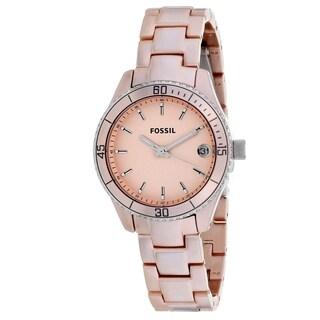 Fossil Women's 'Stella' Stainless Steel Watch