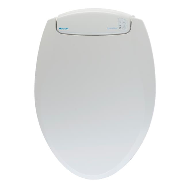 LumaWarm Heated Nightlight Elongated Biscuit Toilet Seat