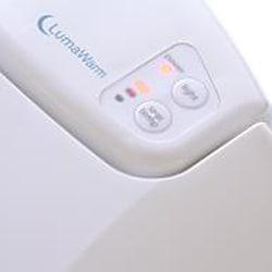 LumaWarm Heated Nightlight Elongated Biscuit Toilet Seat - Thumbnail 2