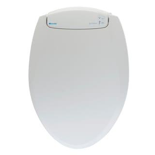 LumaWarm Round White Heated Nightlight Toilet Seat