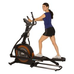 "Exerpeutic 650 Heavy Duty 23"" Fitness Club Stride Programmable Elliptical"