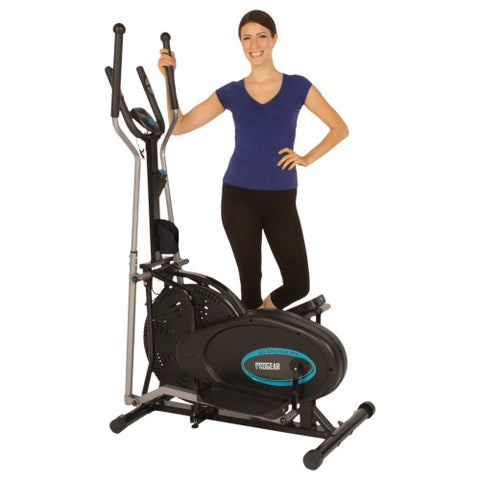 Progear 300LS Air Elliptical with Pulse Sensors - Black