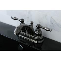 Black Nickel 4-inch Center Bathroom Faucet