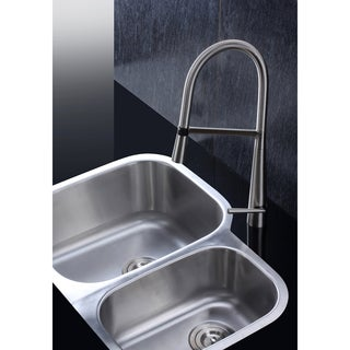 Ruvati 16-gauge Steel Double Bowl 29-inch Undermount Kitchen Sink