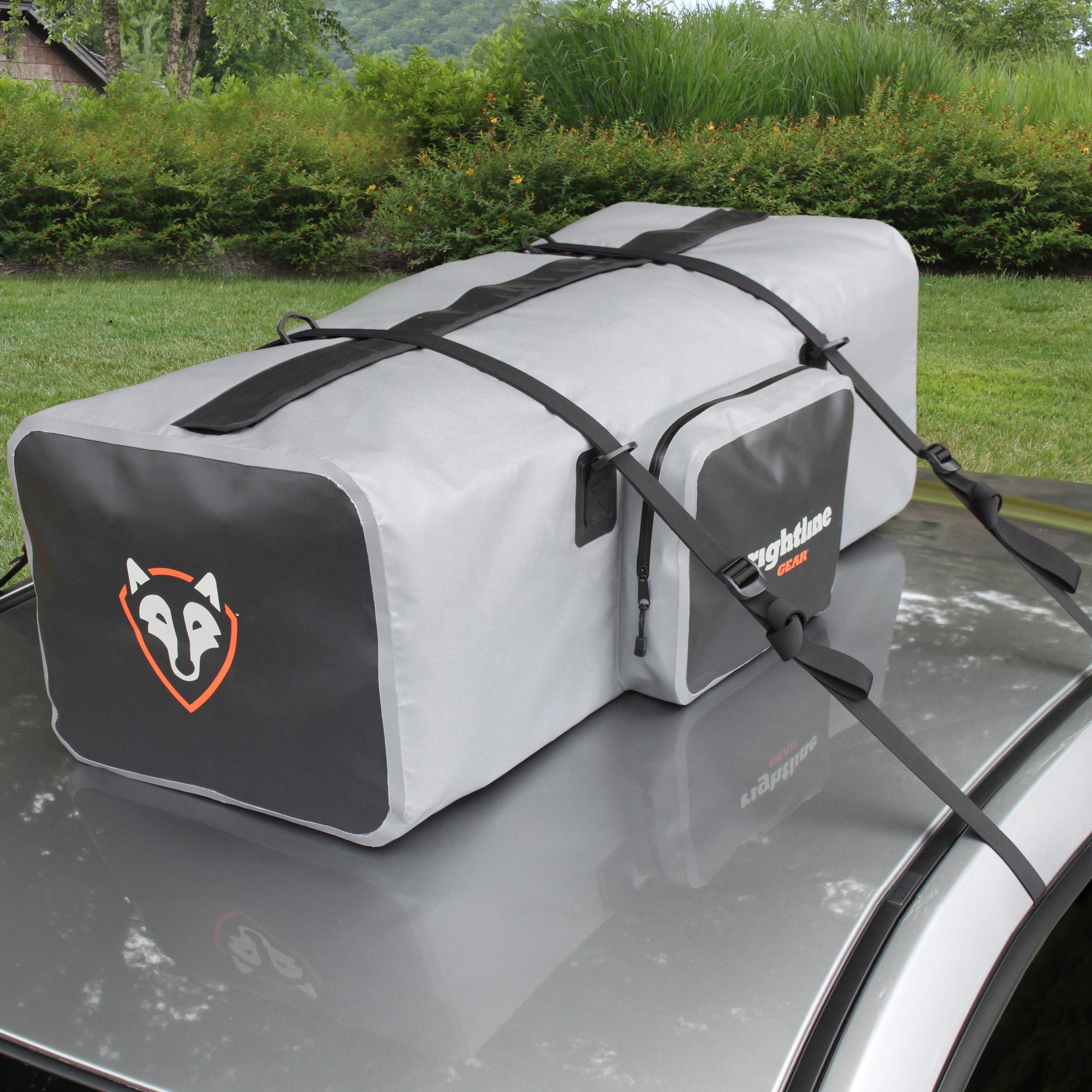 Rightline Gear Gray Black Waterproof Car Top Luggage Rack Duffel Bag
