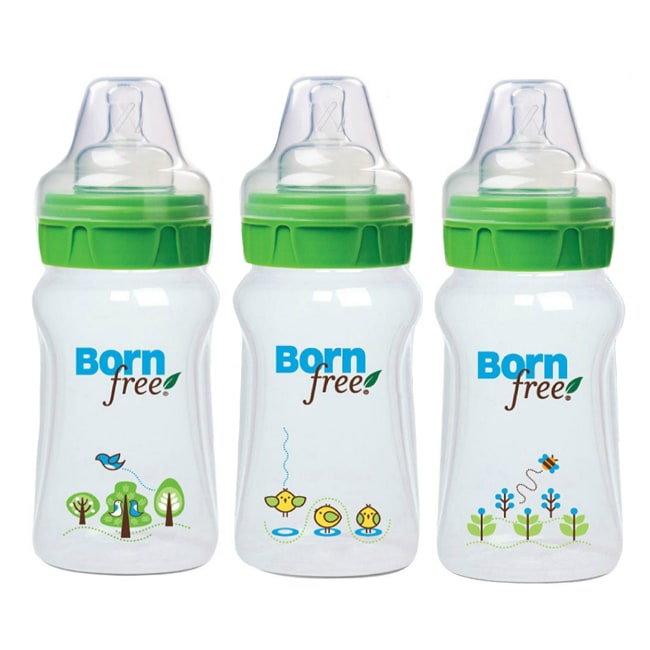 Born Free 9-ounce Eco Deco Bottles (Pack of 3)
