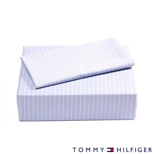 Shop Tommy Hilfiger Oxford Stripe Sheet Set Free