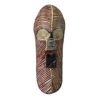 Sese Wood 'Songe Marriage' Congolese African Mask (Ghana)