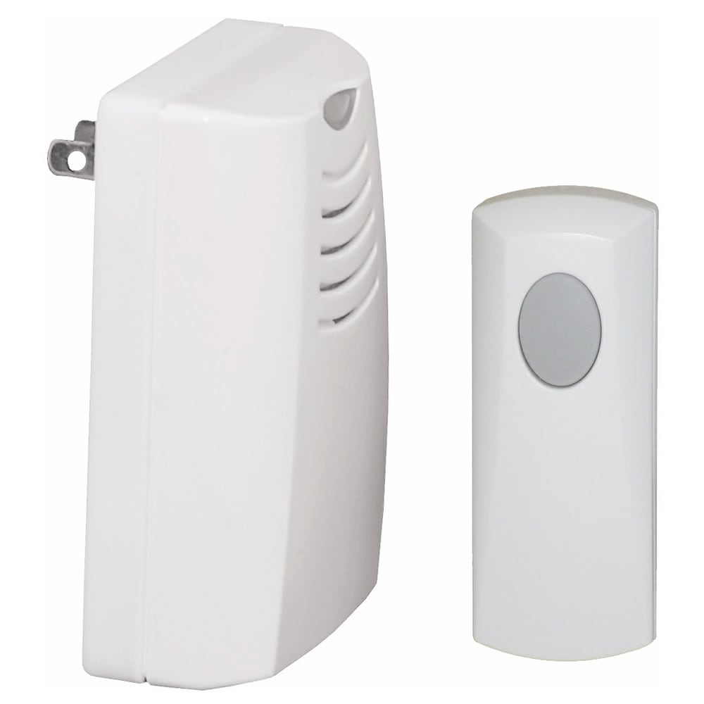 Honeywell Plug-in Wireless Door Chime and Push with Indic...