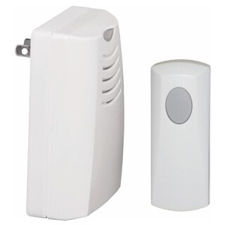 Plug-in Wireless Door Chime and Push with Indicator Light