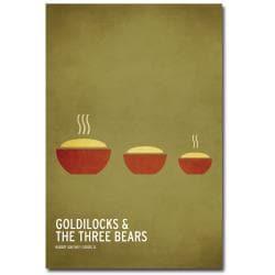 Christian Jackson 'Goldilocks and the Three Bears' Canvas Art