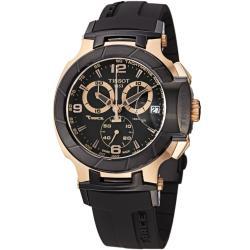 Tissot Men's T0484172705706 T-Sport Rose-gold Stainless Steel Watch