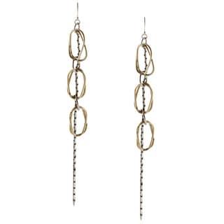 Jessica Simpson Goldtone Dangle Fashion Earrings