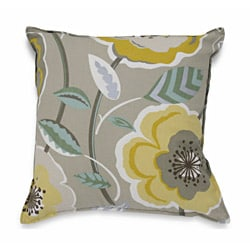 Shop Poppy Galore Grey Pillow Free Shipping On Orders