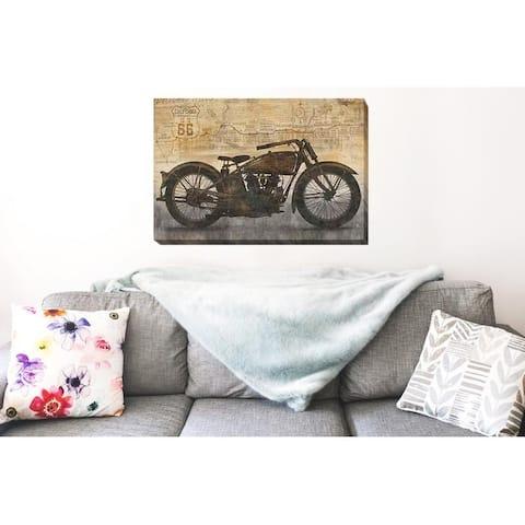 Dylan Matthews 'Ride' Canvas Art (24 in x 36 in)