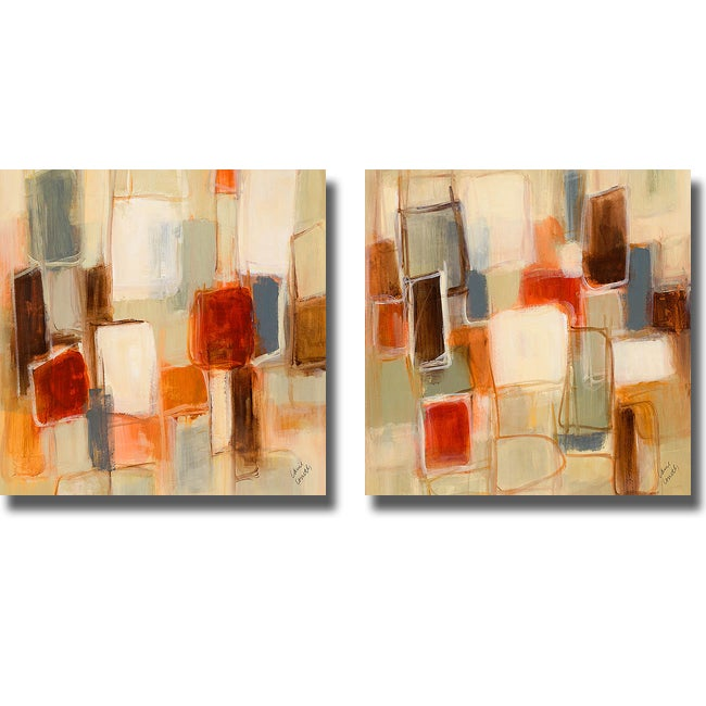 Lanie Loreth 'Peaceful Prelude Square' 2-piece Canvas Art Set
