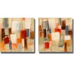 Lanie Loreth 'Peaceful Prelude Square' 2-piece Canvas Art Set