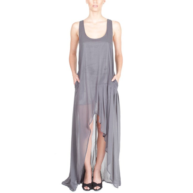 Nami Women's Semi-sheer Racerback Maxi Dress