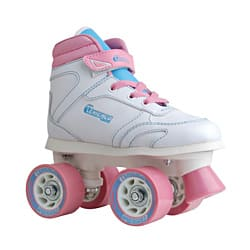 Chicago Skates Girls Sidewalk Skate with Padded Ankle Collar and Laces|https://ak1.ostkcdn.com/images/products/7031427/Chicago-Skates-Girls-Sidewalk-Skate-with-Padded-Ankle-Collar-and-Laces-P14535349.jpg?impolicy=medium