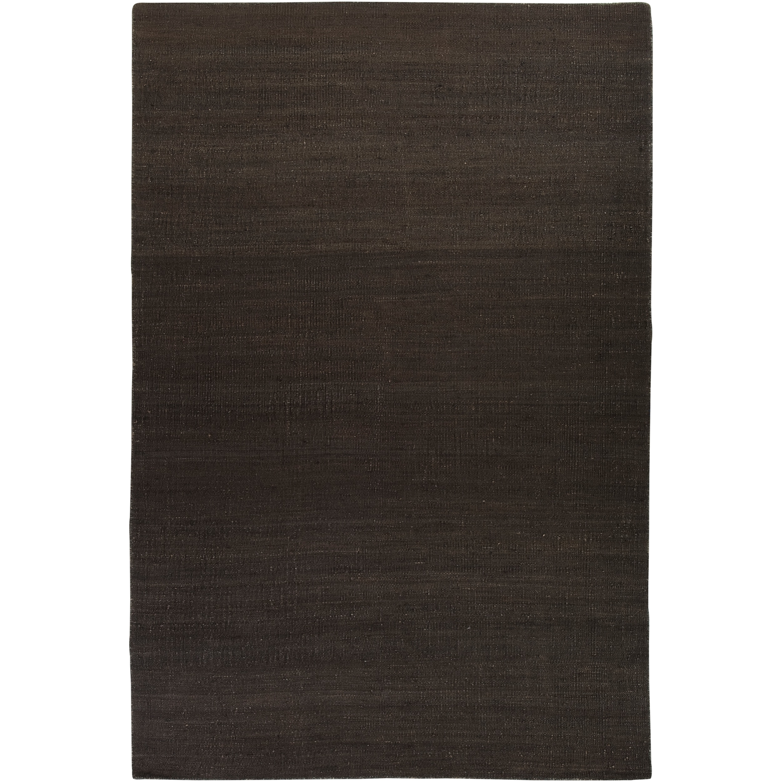 Hand Woven Conifer Brown Reversible Jute Rug Area Rug 2