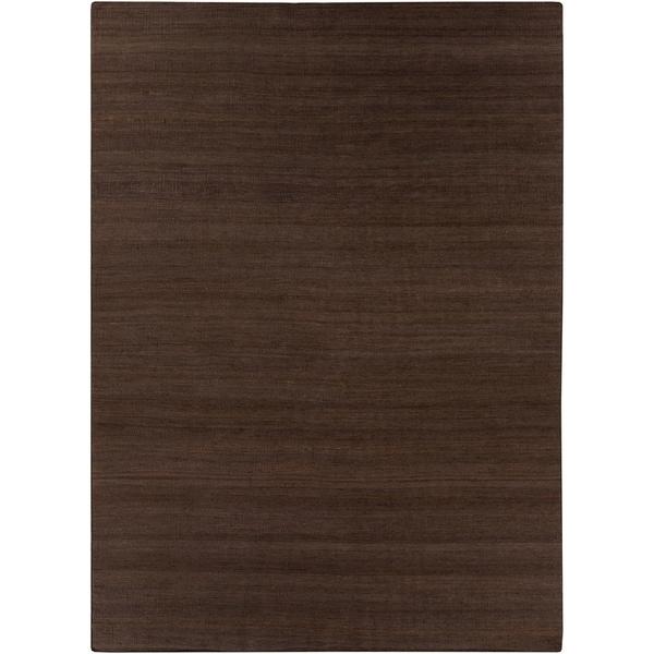 Hand-woven Cypress Brown Reversible Jute Rug Area Rug - 8' x 11'