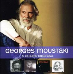 GEORGES MOUSTAKI - 4 ALBUMS ORIGINAUX