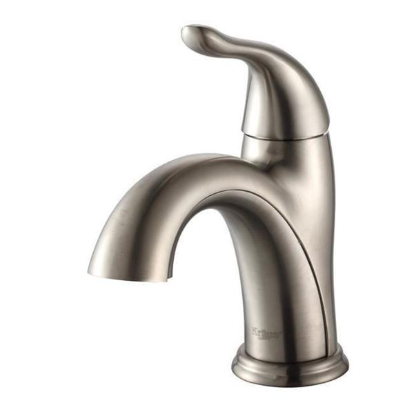 KRAUS Arcus Single Handle 1-Hole Bathroom Faucet. Opens flyout.