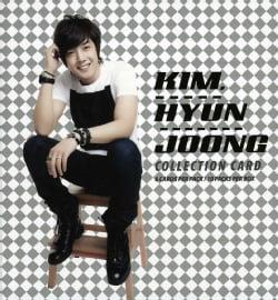 HYUN JOONG KIM - COLLECTION CARD